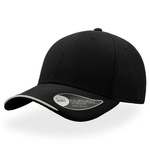 Premium Estoril baseball cap in polyester jacquard fabric