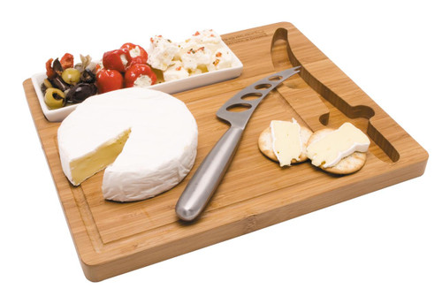 Custom branded cheeseboard from Supply Crew.