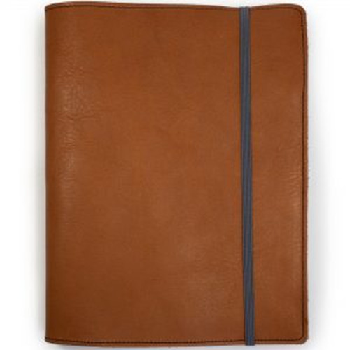 Corban & Blair Jersey, A5 Leather Journal Custom branded by Supply Crew