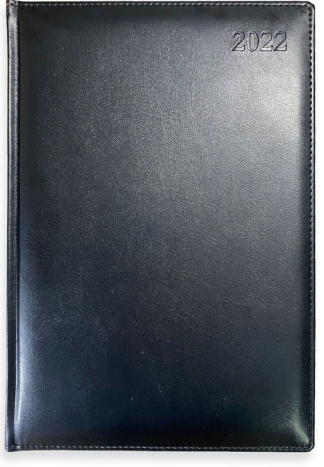 PlusFile® Executive Coram Day-to-a-Page Casebound A5 - Code 762-21