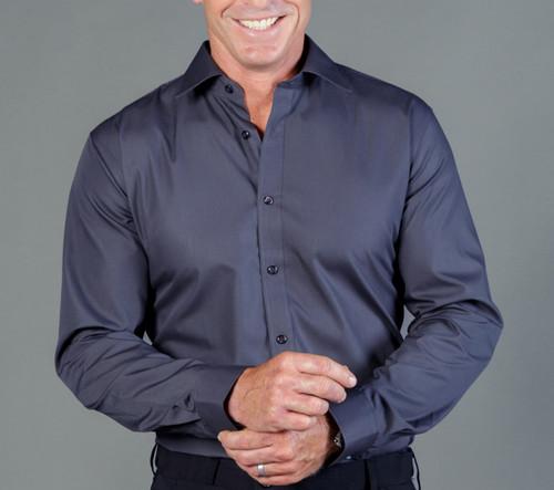 Premium Poplin Mens Long Sleeve Shirt