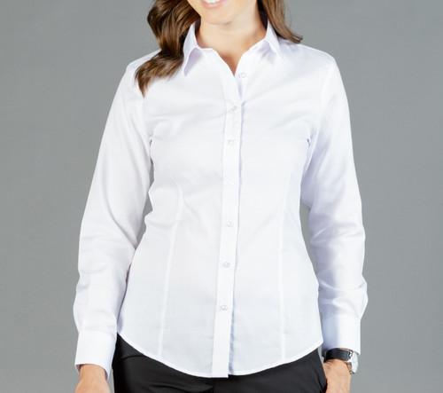 Ultimate White Womens Long Sleeve Shirt