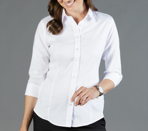 Ultimate White Womens 3/4 Sleeve Shirt