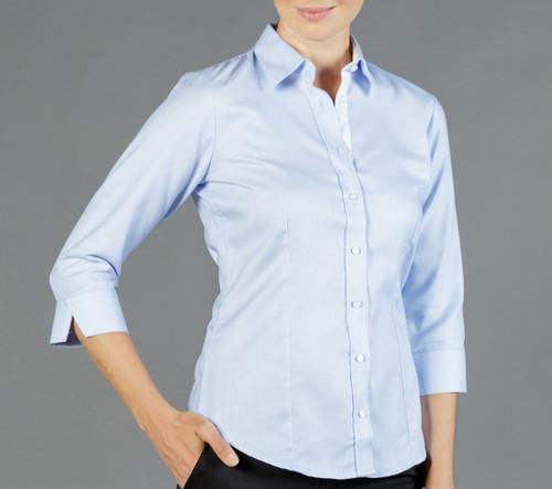 Micro Step Womens 3/4 Sleeve Shirt