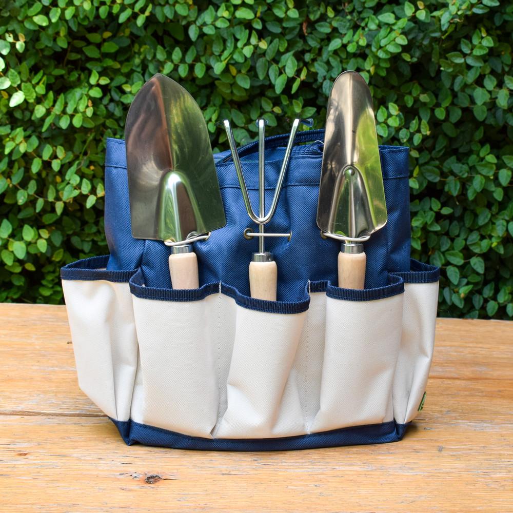 Garden Tote w. 3 Piece Tool Set