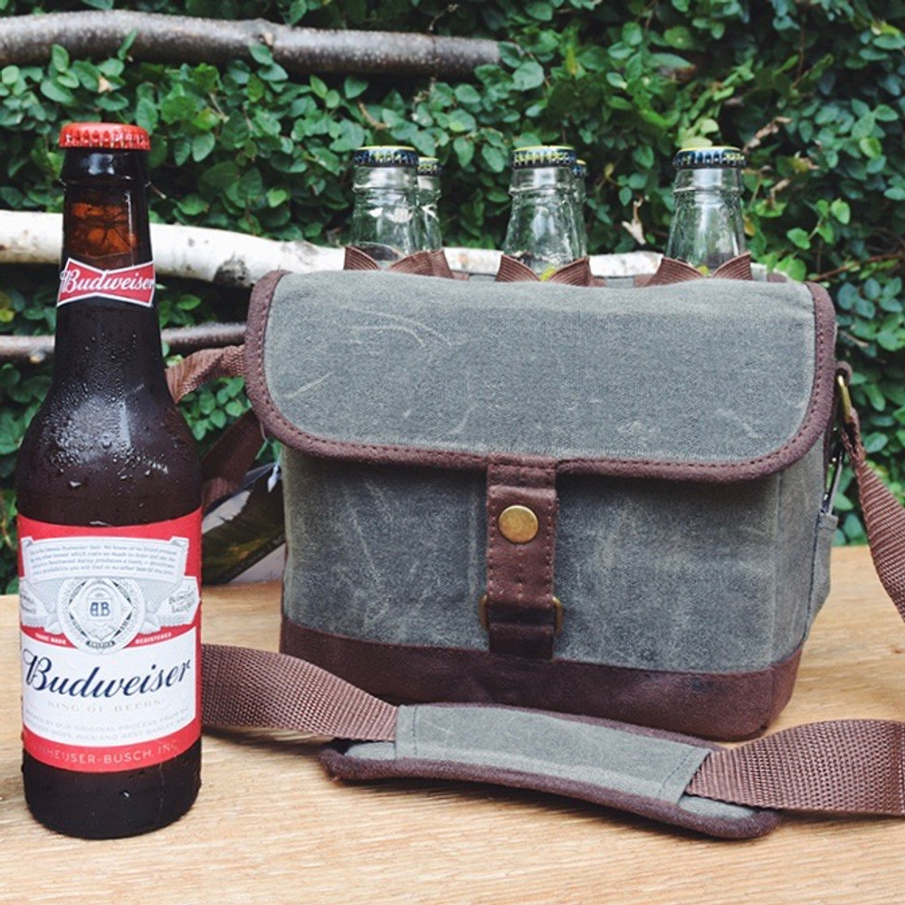 Your friends will thank you when you show up with the Beer Caddy soft-sided cooler filled with their favorite cold beverages.