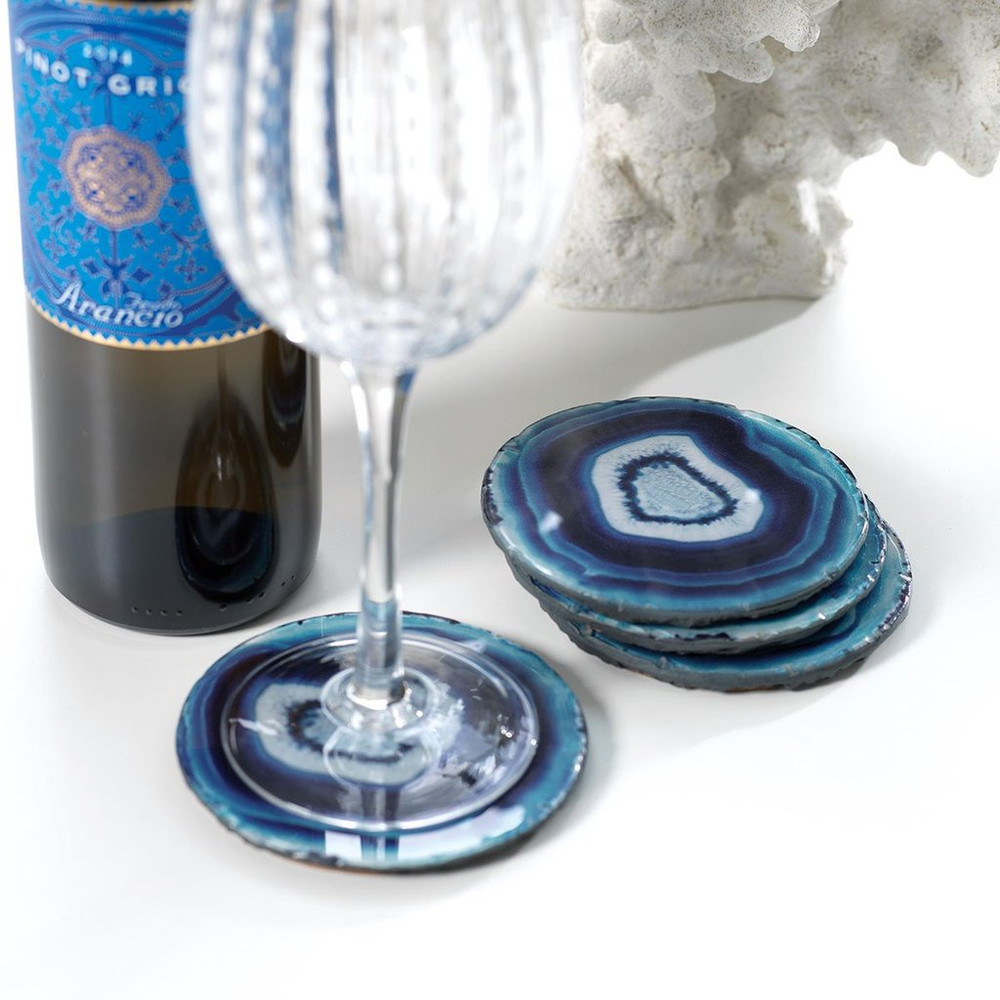 The perfect understated coaster to add a hint of color and protect your furniture!
