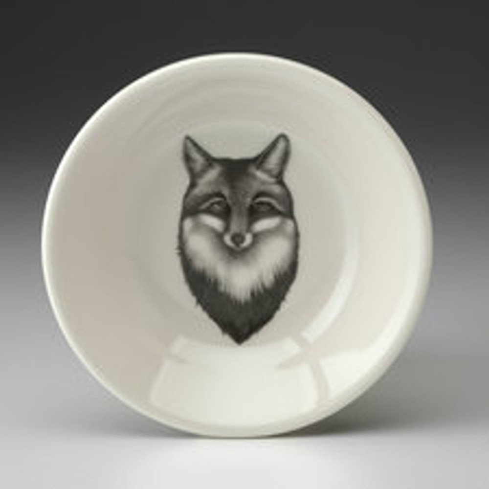 """Fox These Laura Zindel Design sauce bowls are made from creamy white high-resistance china. These products are microwave and dishwasher safe, and durable enough for everyday use. Size: 4.75"""""""