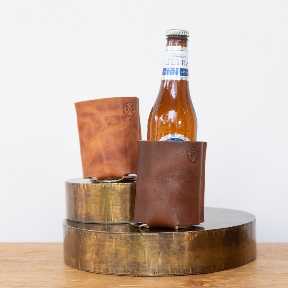 Leather Coozie