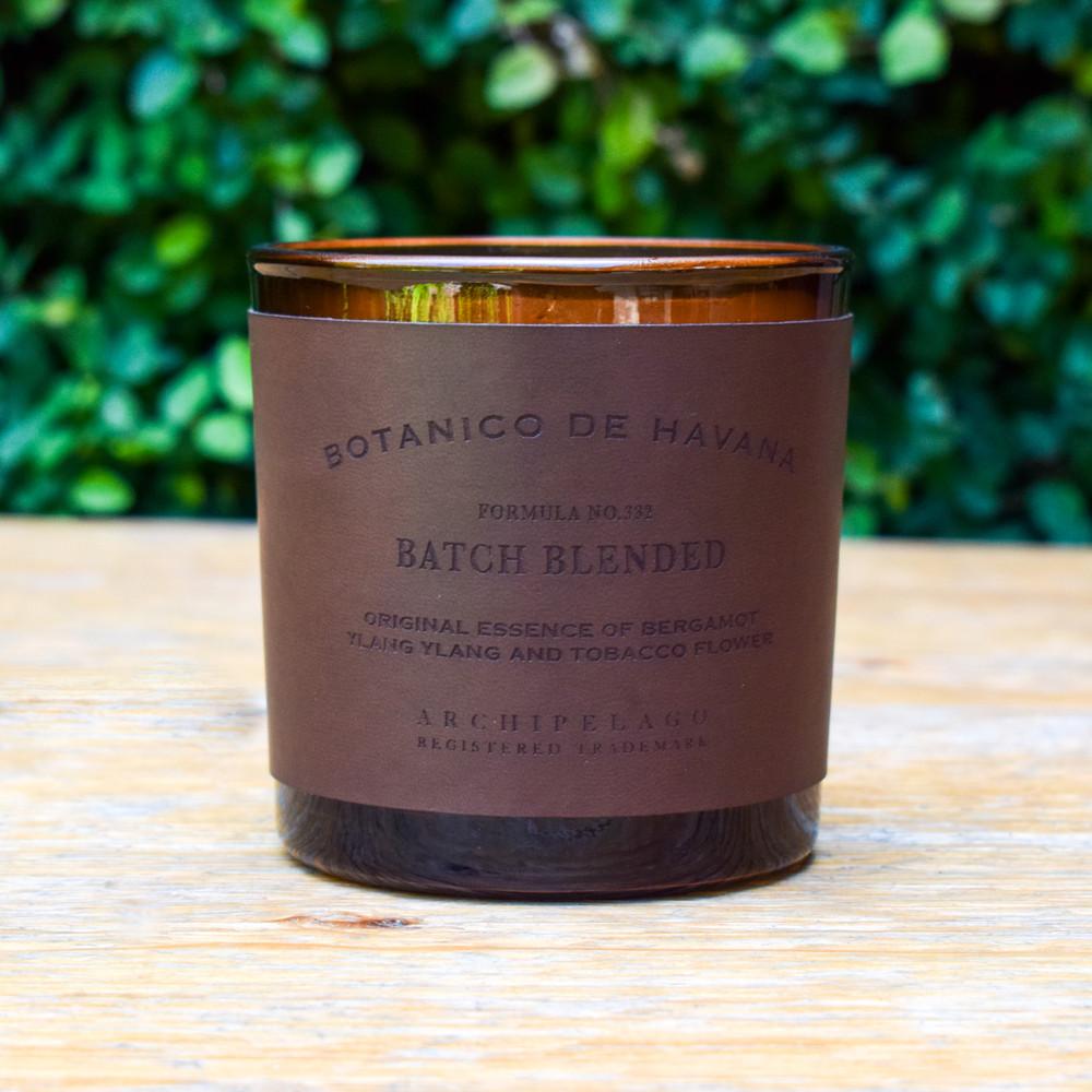 Botanico Letter Press Candle