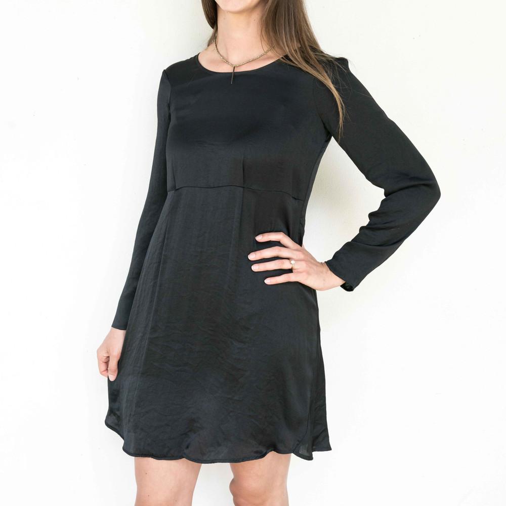 Noir Long Sleeve Dress