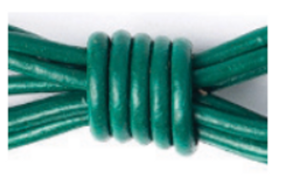 Sea Green   A statement bracelet stack made easy! These skinny bangles feature brass beads on a leather bracelet available in a variety of colors.  Handmade in Seattle, Washington with environmentally friendly leather these bangles are a great to give to a girlfriend and yourself!