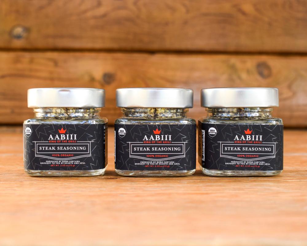 AABIII Steak Seasoning