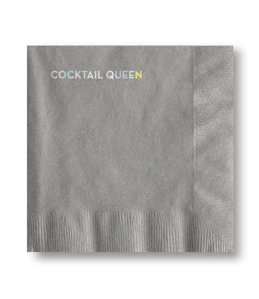 The perfect napkin to lighten the mood, start a conversation, or make you laugh by yourself. These witty saying napkins are sold in sets of 20.