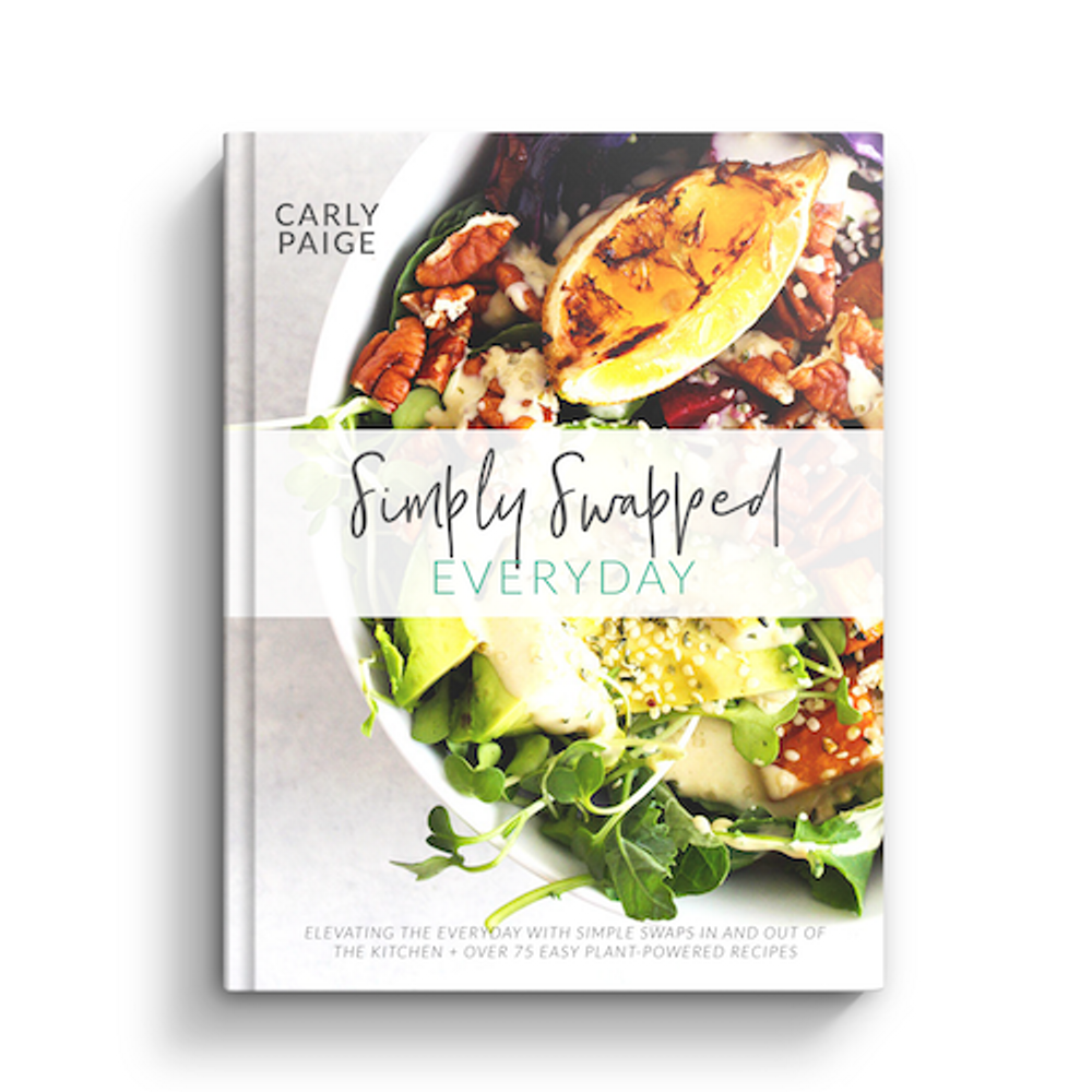 Simply Swapped Everyday Cookbook by Carly Paige