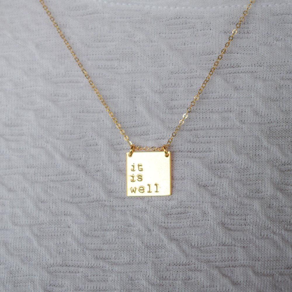 Phrase Necklace