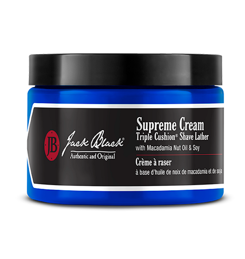 This ultra hydrating shaving cream lifts the hair away from the skin giving you a close shave while leaving the skin soft, moisturized, and refreshed.  9.5 oz.