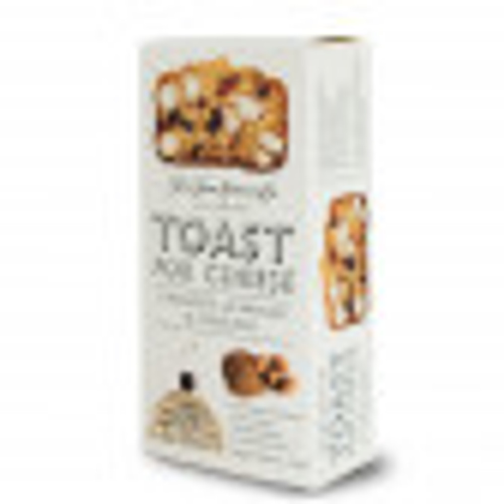 A light and crispy toast with the perfect blend of nutty and fruity flavors. Perfect for soft and spreadable cheeses.