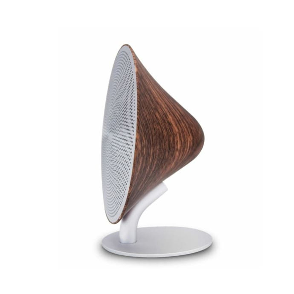 Mini Halo Speaker - Walnut