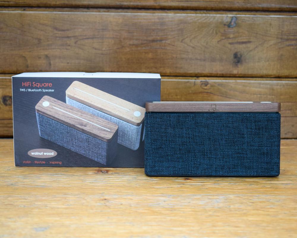HiFi Square Speaker - Walnut