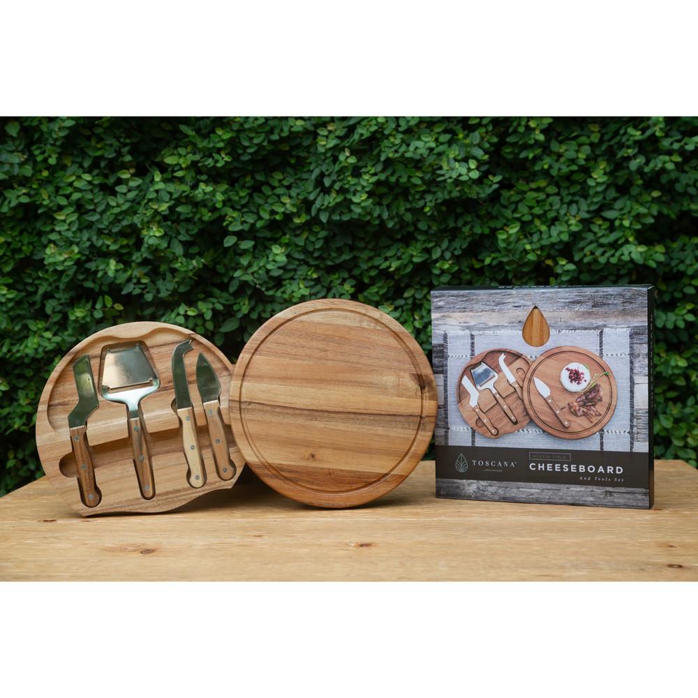Acacia Circo Cheese Board Set