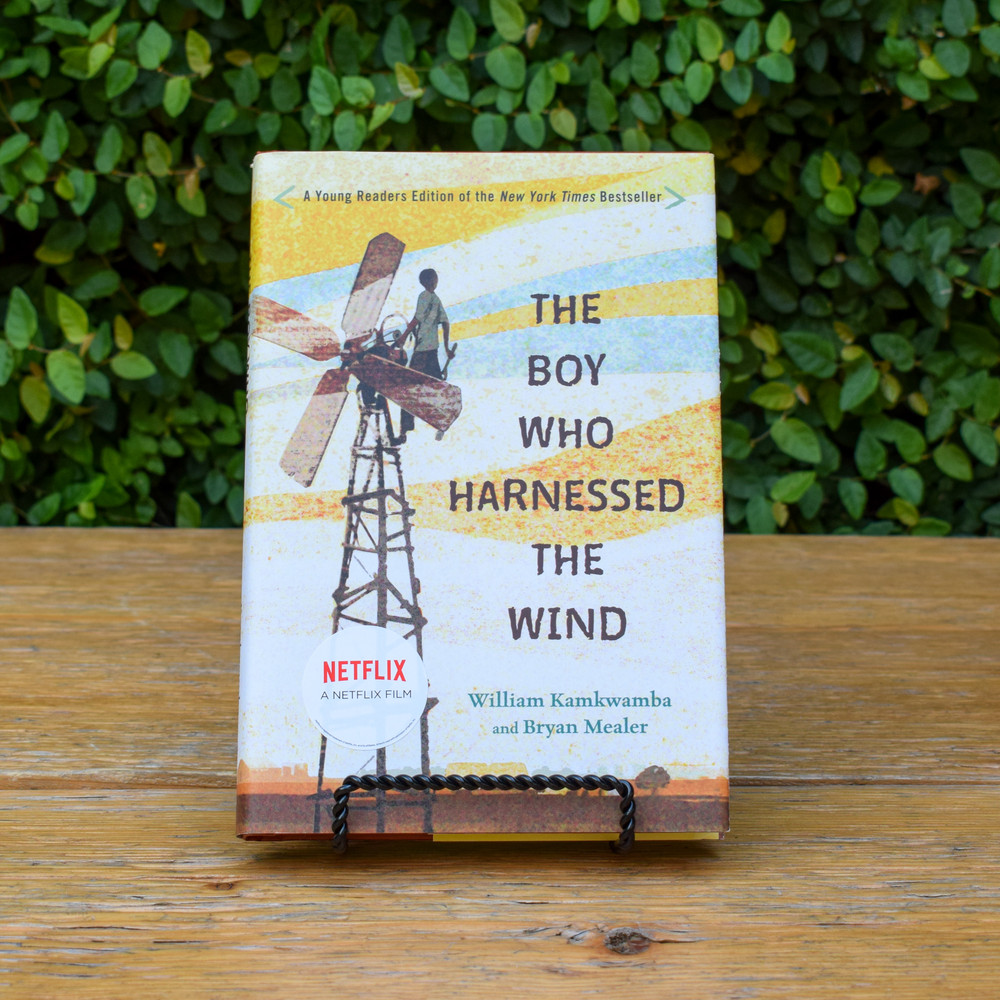 When a terrible drought struck William Kamkwamba's tiny village in Malawi, his family lost all of the season's crops, leaving them with nothing to eat and nothing to sell. William began to explore science books in his village library, looking for a solution. There, he came up with the idea that would change his family's life forever: he could build a windmill. Made out of scrap metal and old bicycle parts, William's windmill brought electricity to his home and helped his family pump the water they needed to farm the land.  Retold for a younger audience, this exciting memoir shows how, even in a desperate situation, one boy's brilliant idea can light up the world. Complete with photographs, illustrations, and an epilogue that will bring readers up to date on William's story, this is the perfect edition to read and share with the whole family.