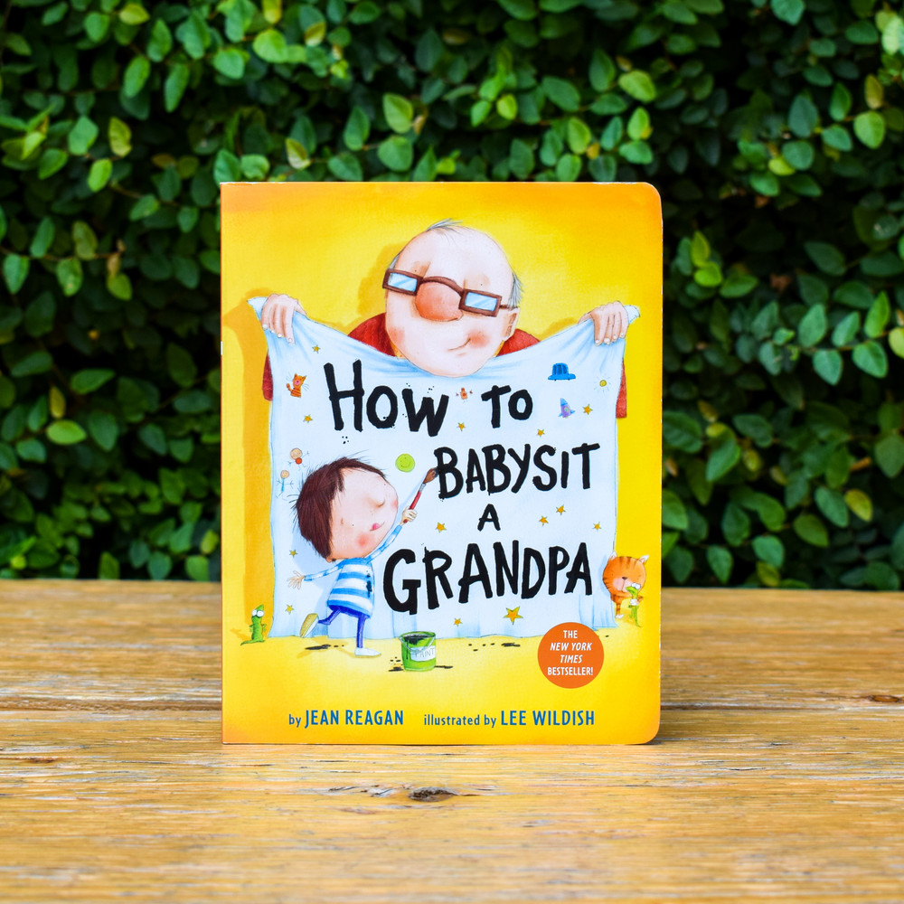 """This is a hilarious and accessible picture book about a child spending time with his grandpa. Written in a how-to style, the narrator gives important tips for """"babysitting"""" a grandpa, including what to eat for snack (anything dipped in ketchup, ice cream topped with cookies, cookies topped with ice cream) what to do on a walk (find lizards and dandelion puffs, be on the lookout for puddles and sprinklers), and how to play with a grandpa (build a pirate cave, put on a scary play).  Filled with humor, energy, and warmth, this is a great gift for or from a grandparent, and perfect for lap reading when Grandpa comes to visit!"""