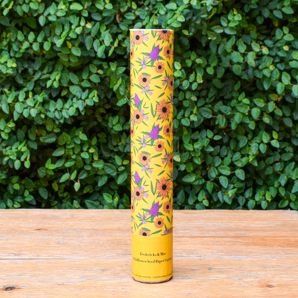 Wildflower Confetti Cannon