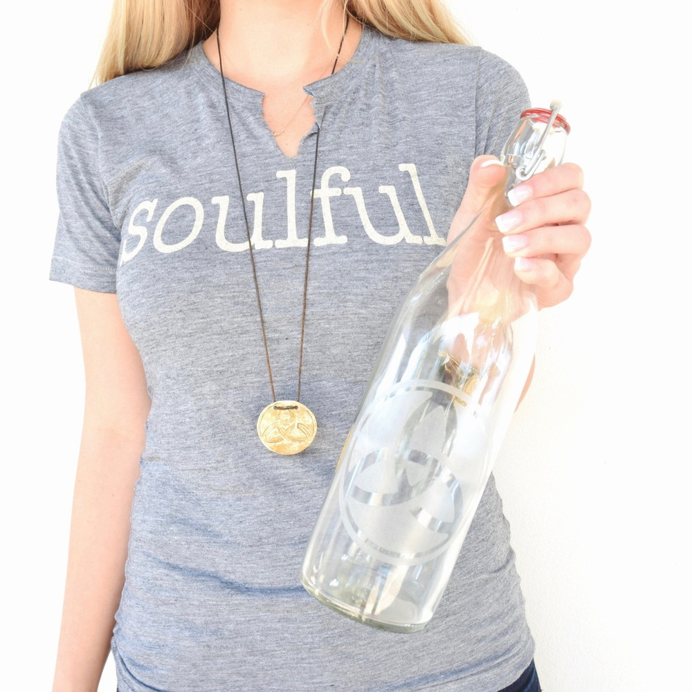 Our signature Soulful Tee is a super soft and comfortable top thats just right - a simple, modern, classic basic for every woman's closet.