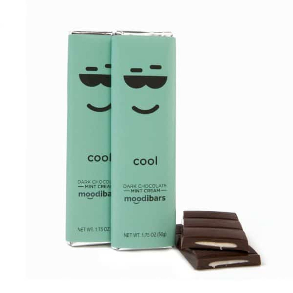 Moodibar - 1.75 oz - Cool - Dk Chocolate Mint Cream
