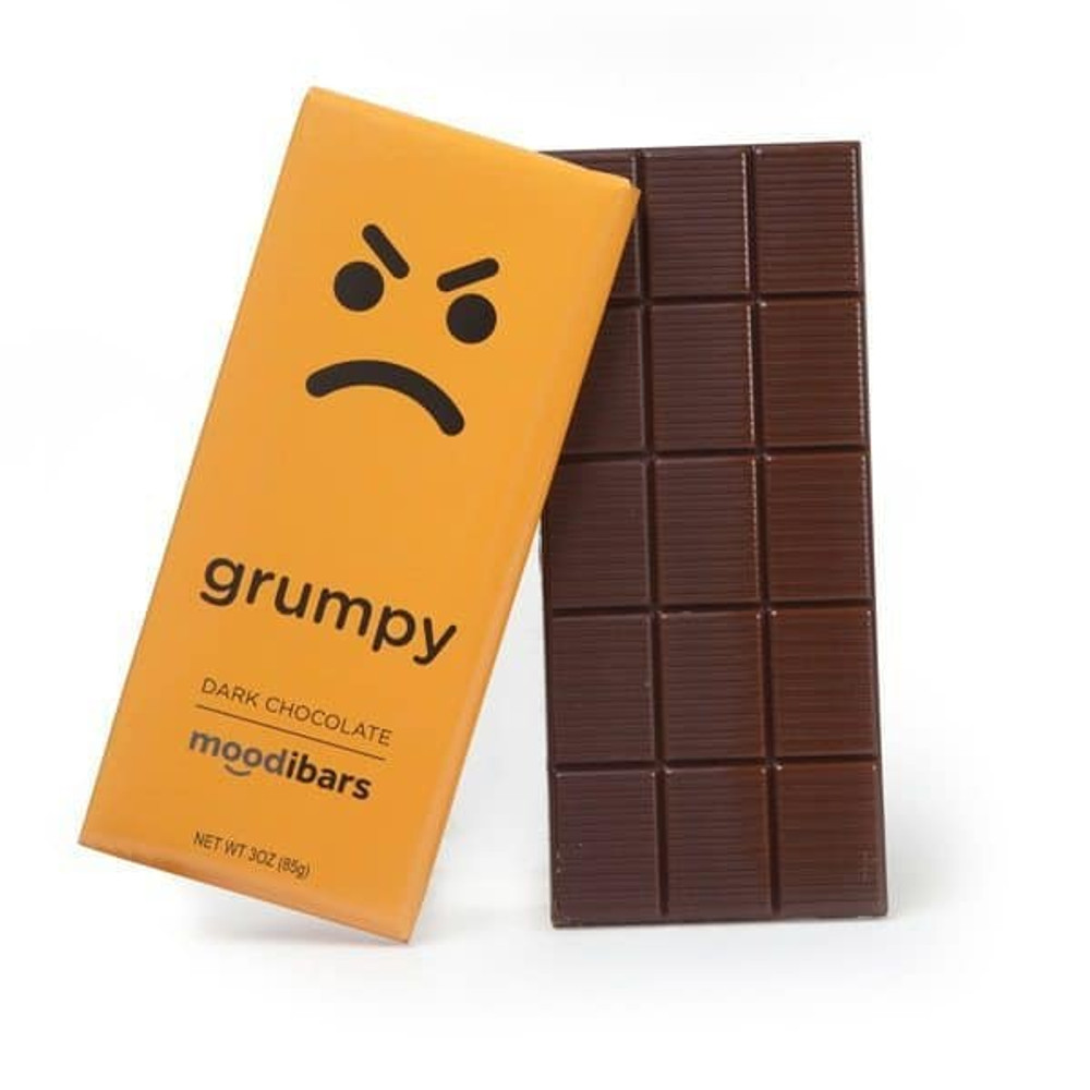 Moodibar - 3 oz - Grumpy - Dark Chocolate
