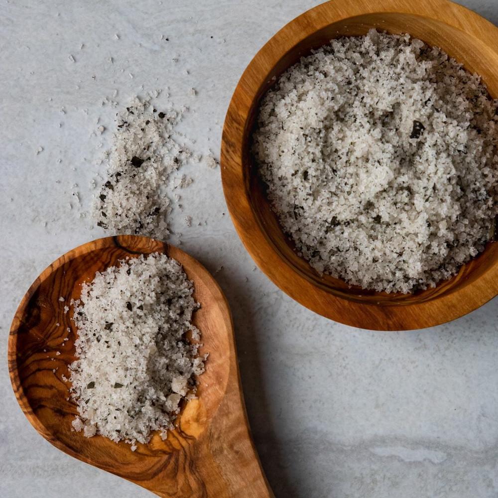 Sicilian Sea Salt - Basil