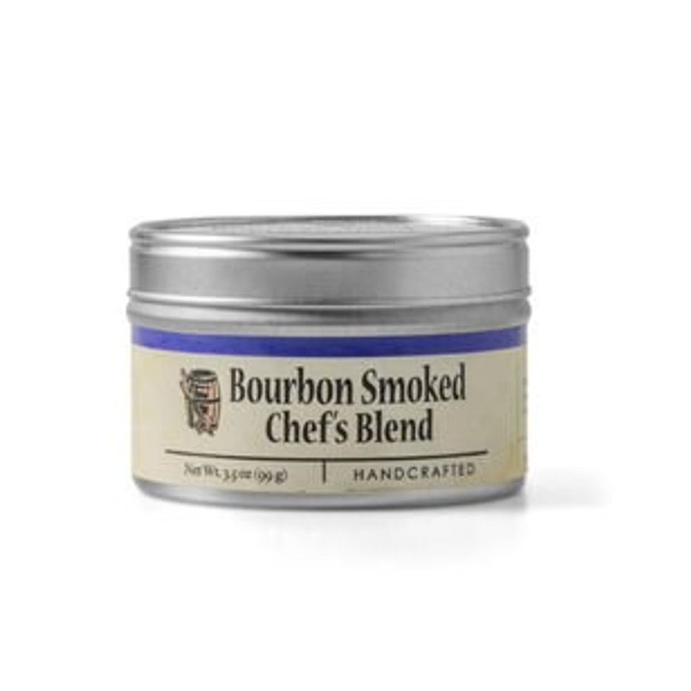 Chef's Blend: Bourbon Smoked Chef's Blend combines sea-salt, quarter cracked pepper and paprika that has been slow-smoked over oak bourbon barrel staves. We add the finest demerara sugar, garlic, and parsley to the blend for the perfect savory-sweet balance. This blend is irresistible on fresh seasonal vegetables, beef, pork, poultry, and seafood. Use it as your go-to spice for grilling, roasting, and pan-frying.