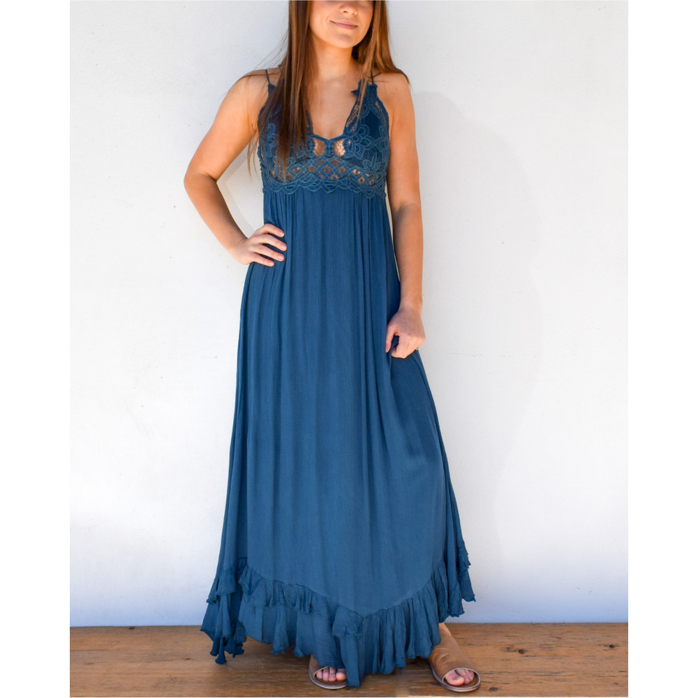 Adella Maxi Slip Dress