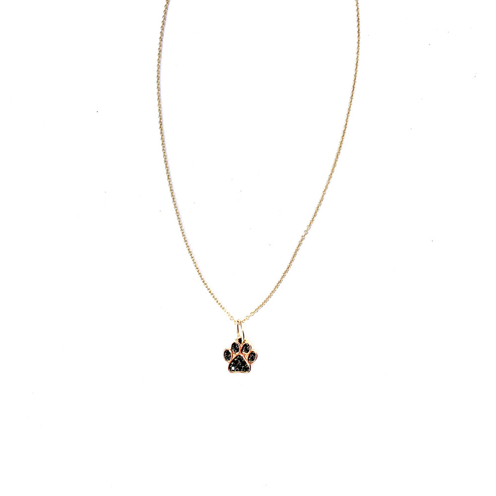 Small Paw Necklace
