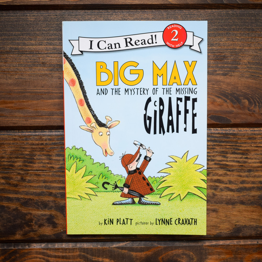 Big Max and the Mystery of the Missing Giraffe - PB