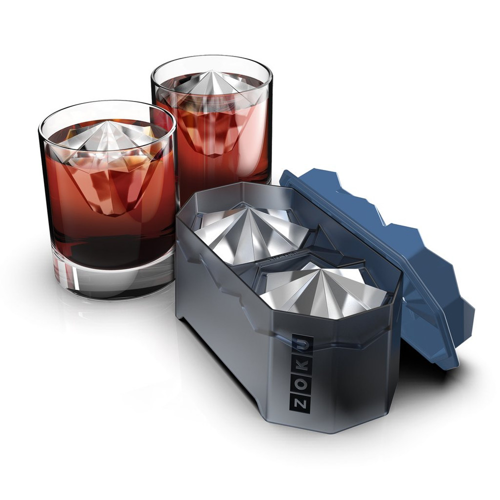 Ready to make your drinks more interesting? The Iceberg ice molds are the perfect thing, create a brilliantly cut iceberg that will melt slowly and not dilute your drink!