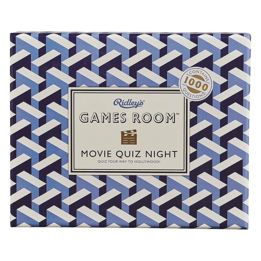 Ridley's trivia and quizzes are the perfect entertainment for family nights or as a dinner party conversation starter. Each box includes 140 multiple choice question cards to test your knowledge and get the party started.