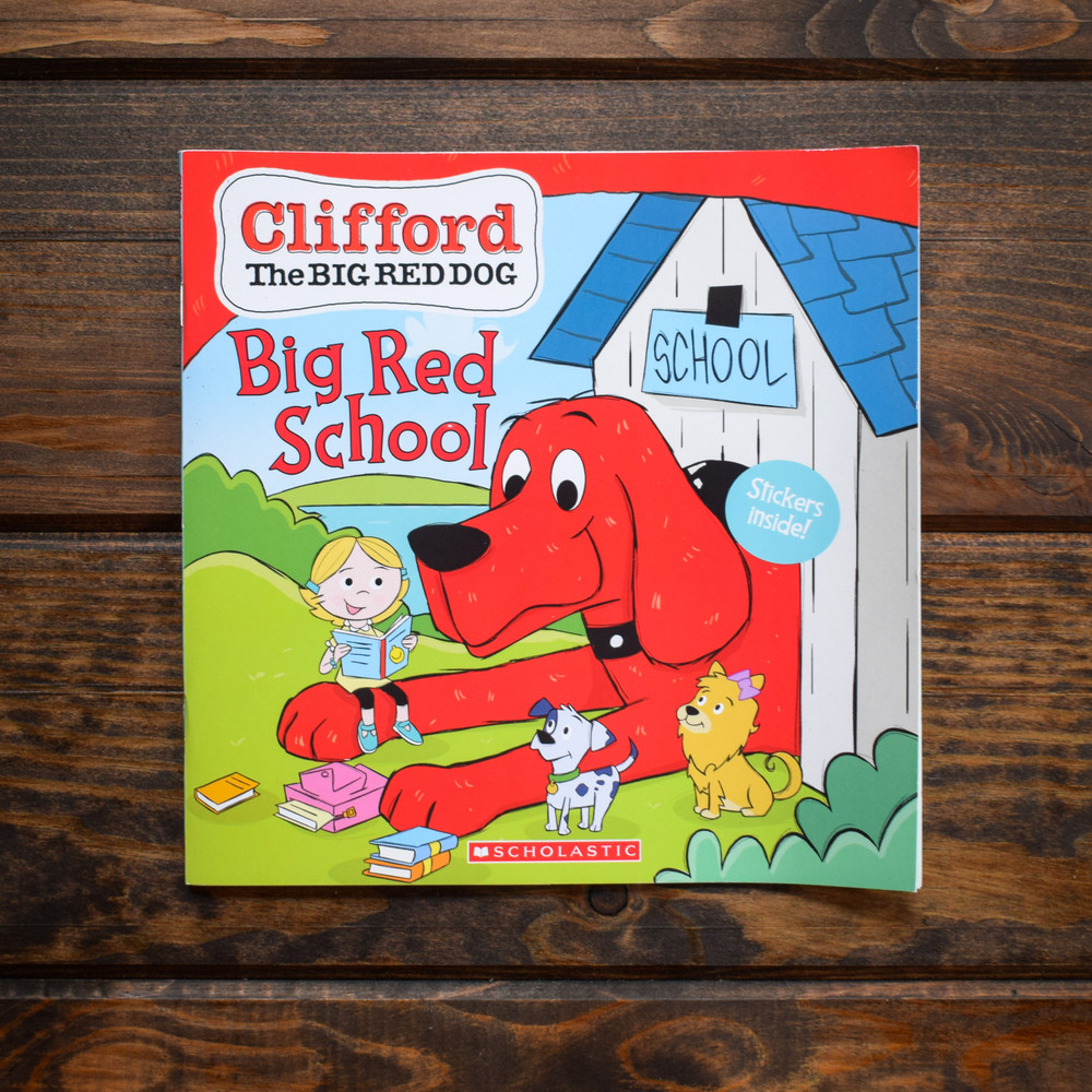 Big Red School  Clifford the Big Red Dog Storybook