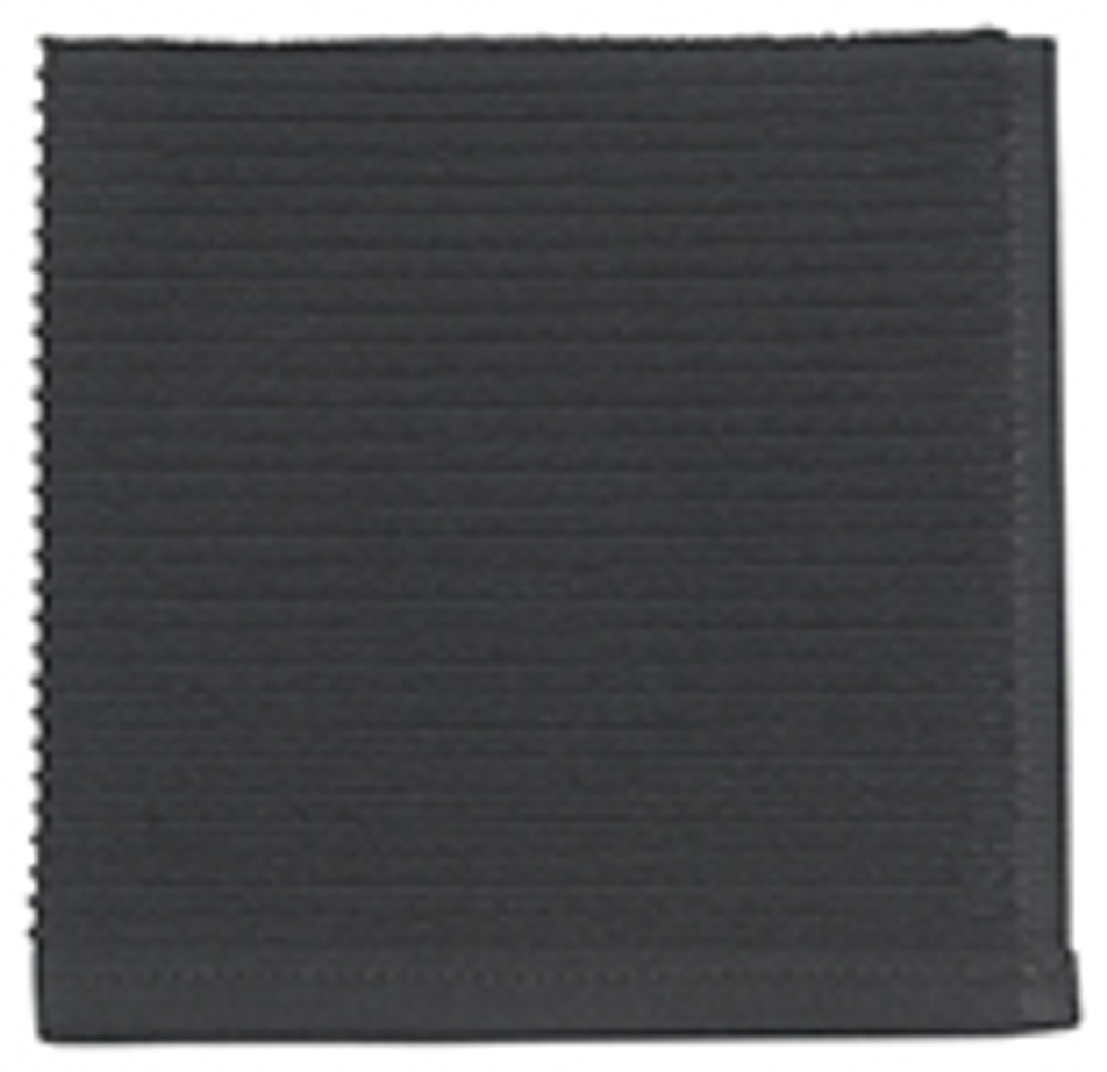 Black   You've finally found the kitchen towel you've been searching for. The ripple towel is perfect, size, absorbent, good looking but also minimal, everything you could ever want in a dish towel. Available in array of vibrant colors to match your space perfectly, we promise you will never buy another type of dish towel after this.