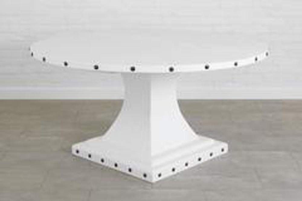 Arthur Pedestal Table