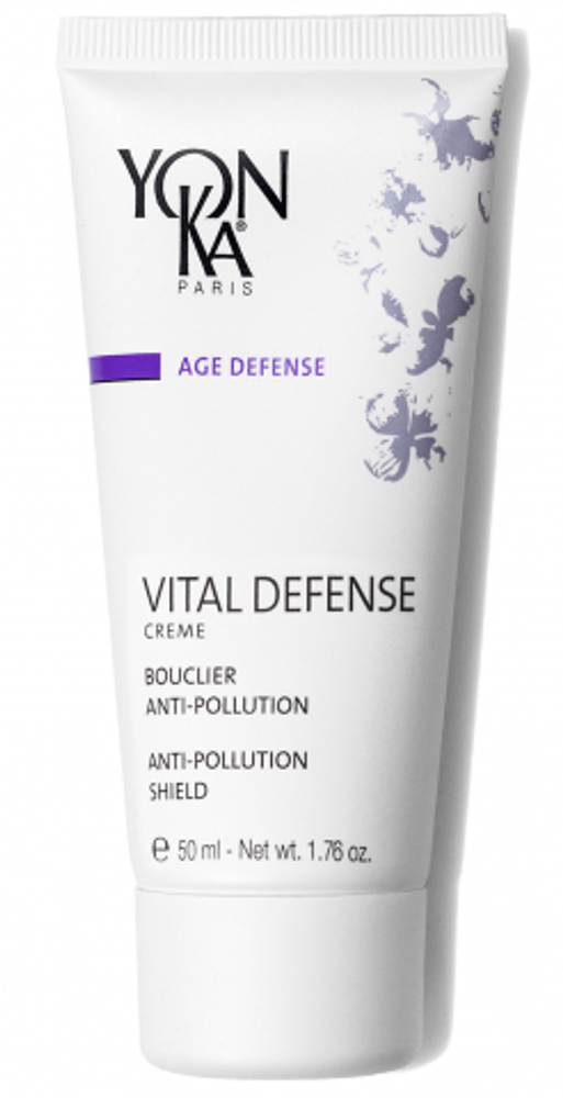 Help protect your skin with this vitamin enriched day creme, created to help prevent damage from environmental pollution and free radicals. A great addition for those who work outside, have dull skin, or are constantly active.