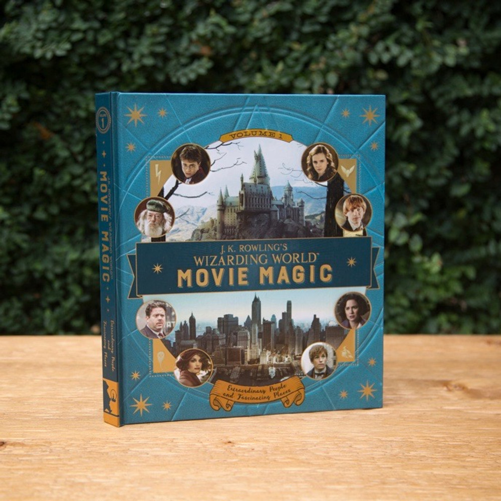 J.K. Rowling's Wizarding World: Movie Magic Volume One: Extraordinary People and Fascinating PlacesFeaturing all eight Harry Potter movies and the upcoming movie Fantastic Beasts and Where to Find Them, this magical book is the ultimate insider's guide to the films from J.K. Rowling's Wizarding World for young fans.  From the gilded halls of Gringotts and Hogwarts to the New York City of Fantastic Beasts and Where to Find Them, each page of this book delivers a fun, interactive experience for young readers as they discover how the extraordinary places and fascinating characters of the wizarding world took shape onscreen. Filled with lift-the-flaps, stickers, and other engaging inserts, this engrossing book overflows with captivating facts about the movie magic used to create a world fit for witches and wizards. Including insights from the actors who played Harry Potter, Professor Dumbledore, Newt Scamander, and many more, this book is a must-have for young fans of the Wizarding World.