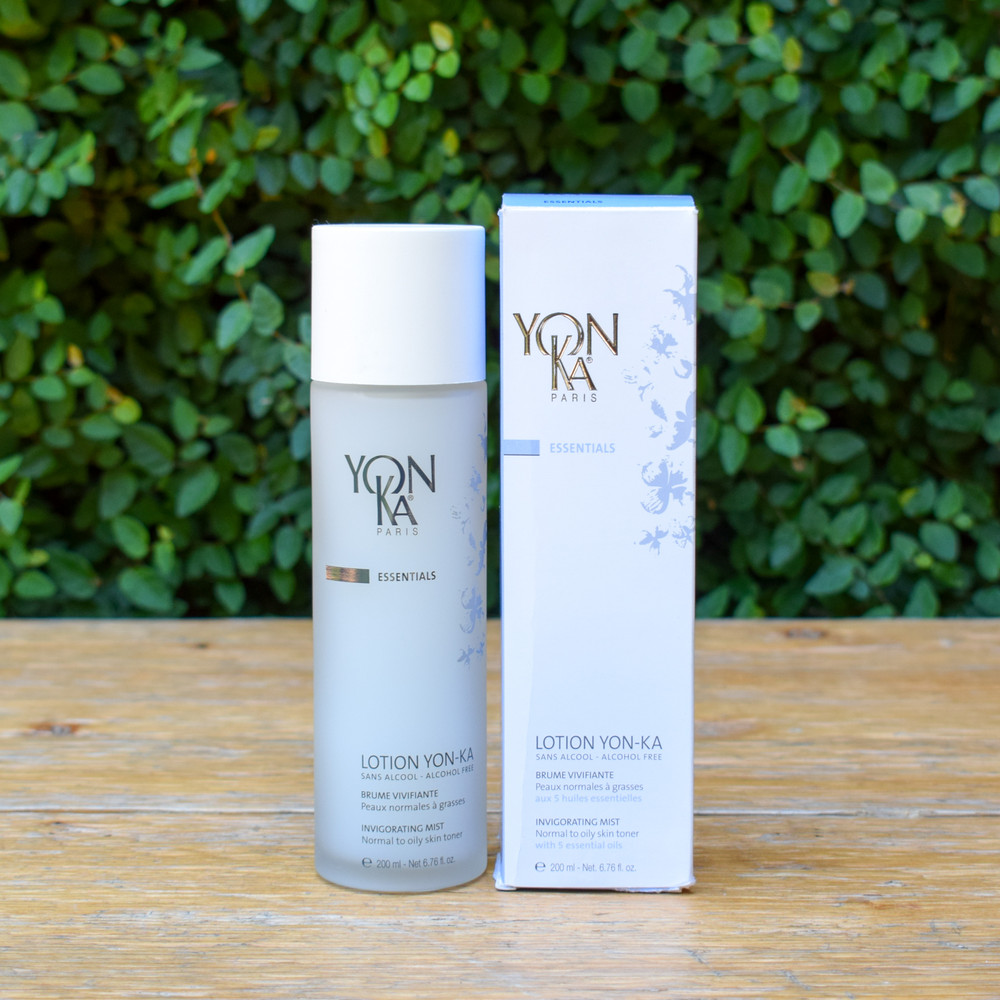 This refreshing and  perfect toner to boost your skin care regimen. Designed for normal to oily skin this unique combination offers five essential oils for purifying, toning, and invigorating effects. In true Yon-Ka fashion this mist is comprised of natural plant based materials and contains no alcohol and is paraben free.