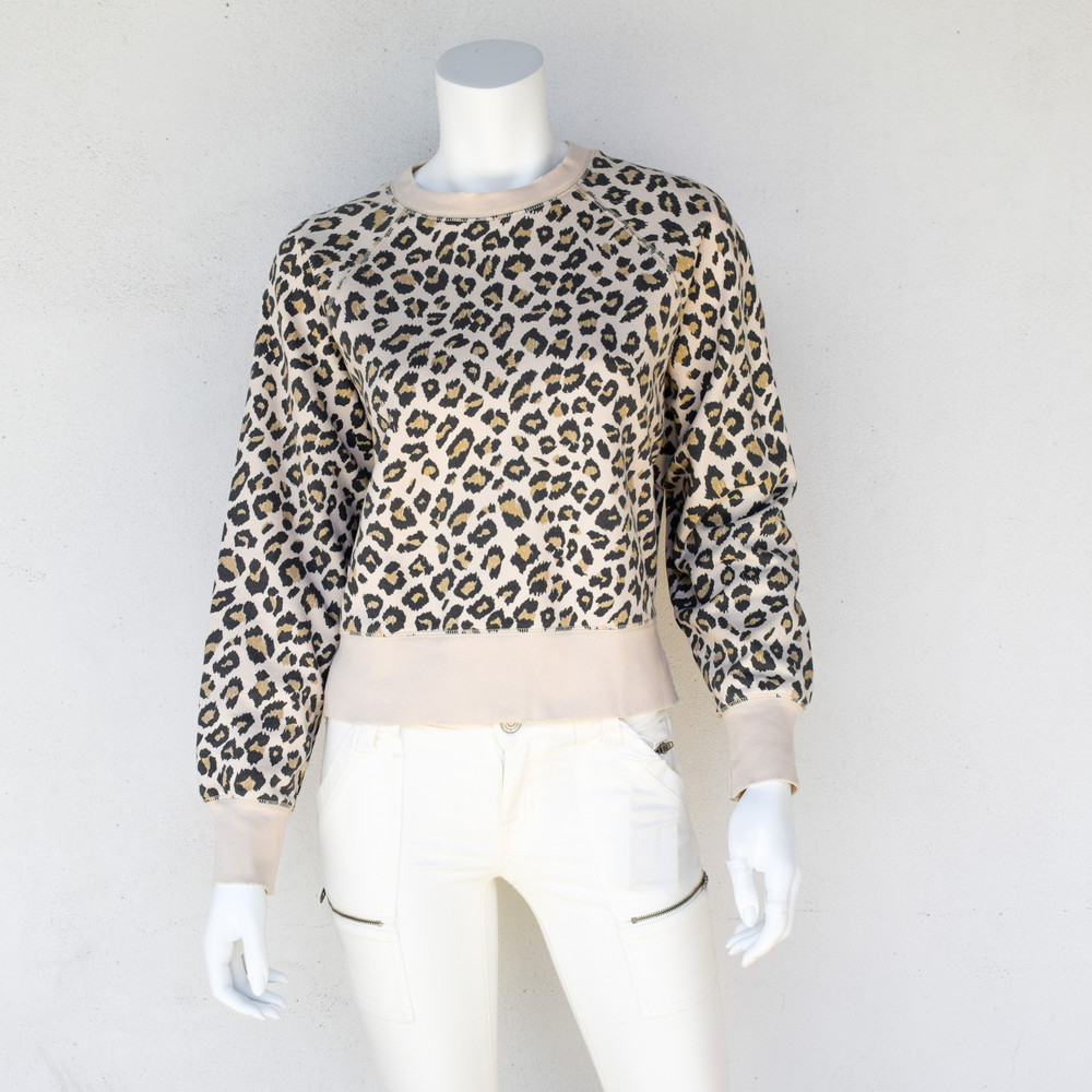 Animal Print Sweatshirt