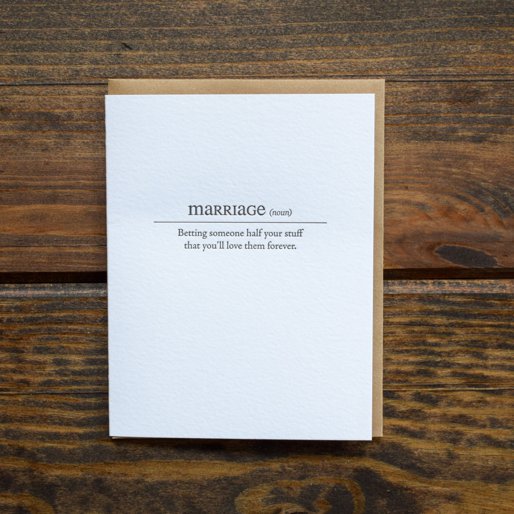 A modern take on everyday words, these satirical cards give you a reality check and will keep you laughing!