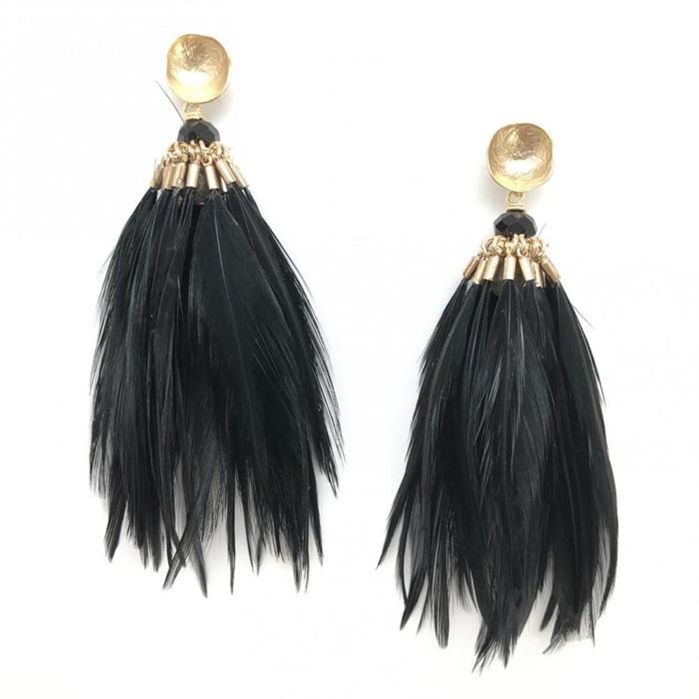 Brinson Feather Earrings