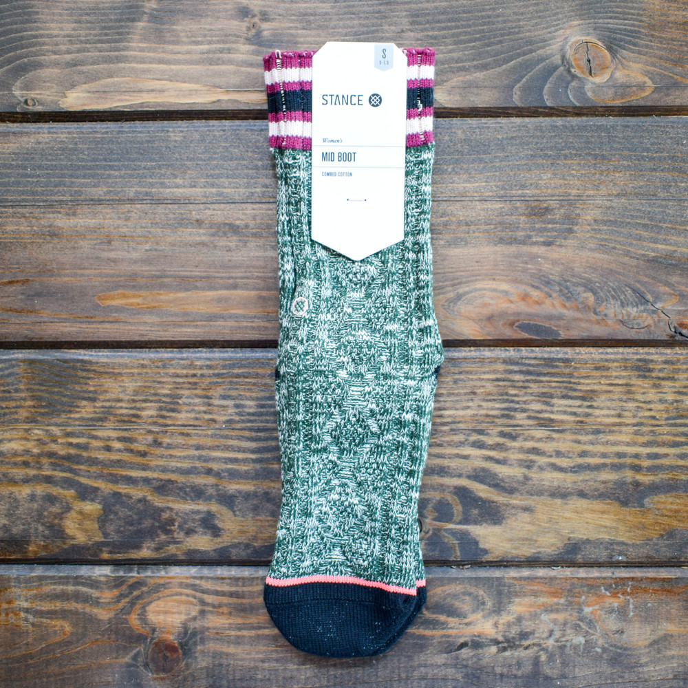 Green Marlow Boot Sock - S