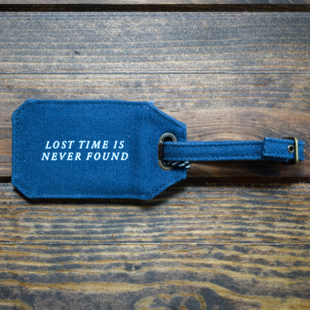 Lost Time Luggage Tag
