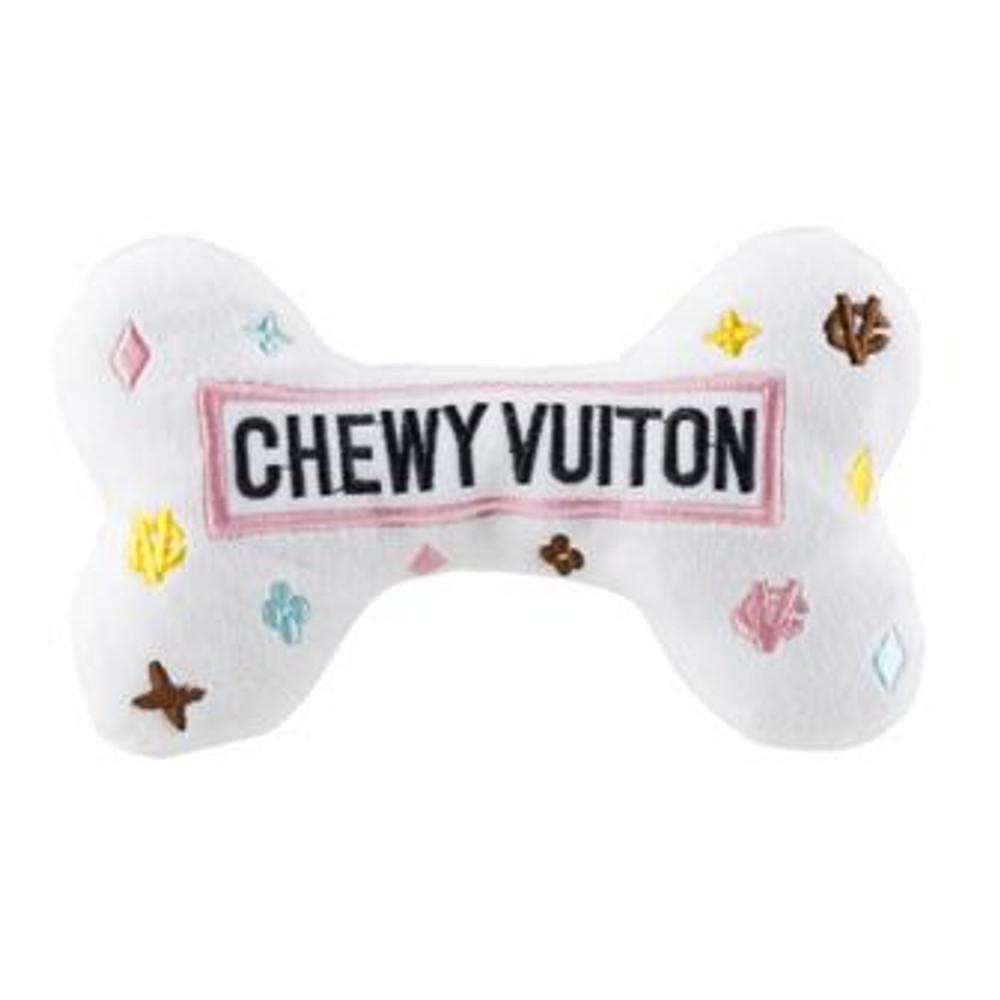 Chewy Vuiton Bone - White - Large